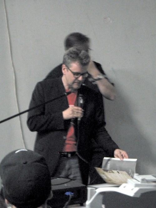 Heiko Gill skizziert die Zukunft von Cthulhu bei Pegasus