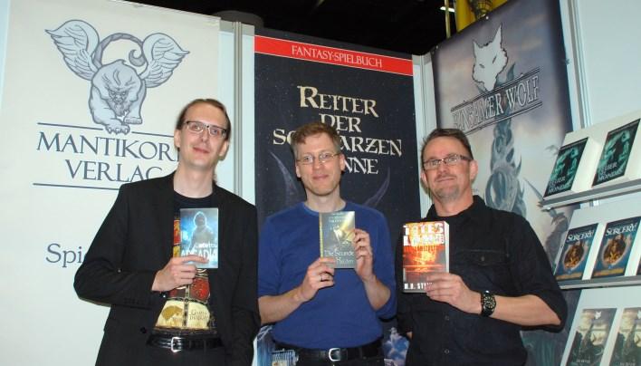 RPC 2015 – Spielbücher und Romane beim Mantikore-Verlag