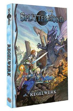 Splittermond Uhrwerk Fantasy Grundregelwerk cover