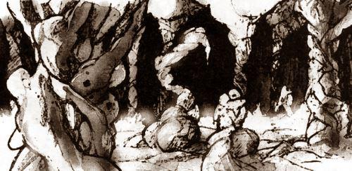 Sind die Lager wirklich vorbei? Die Z'bri leben in bizarren Burgen aus Fleisch und Knochen, umgeben von Heeren aus bedauernswerten Sklaven.