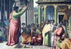 Raphael, St Paul Preaching in Athens Public Domain