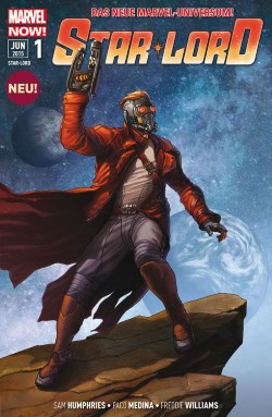 Star Lord 1 cover Marvel Panini