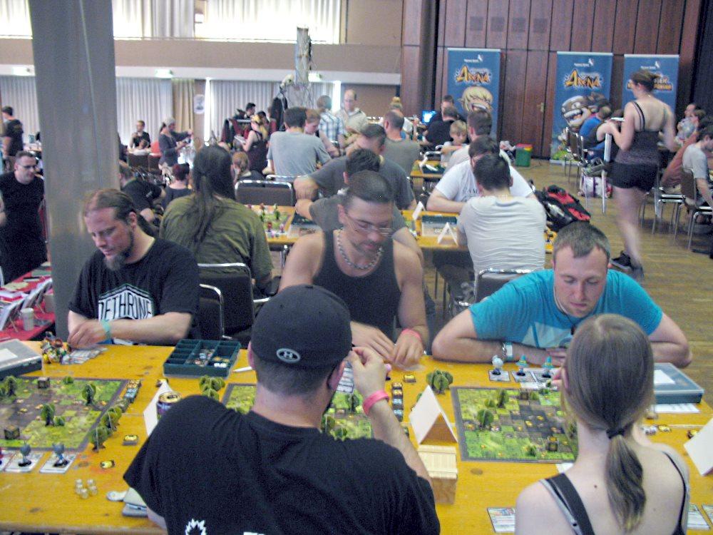 Das Krosmaster-Turnier in vollem Gange