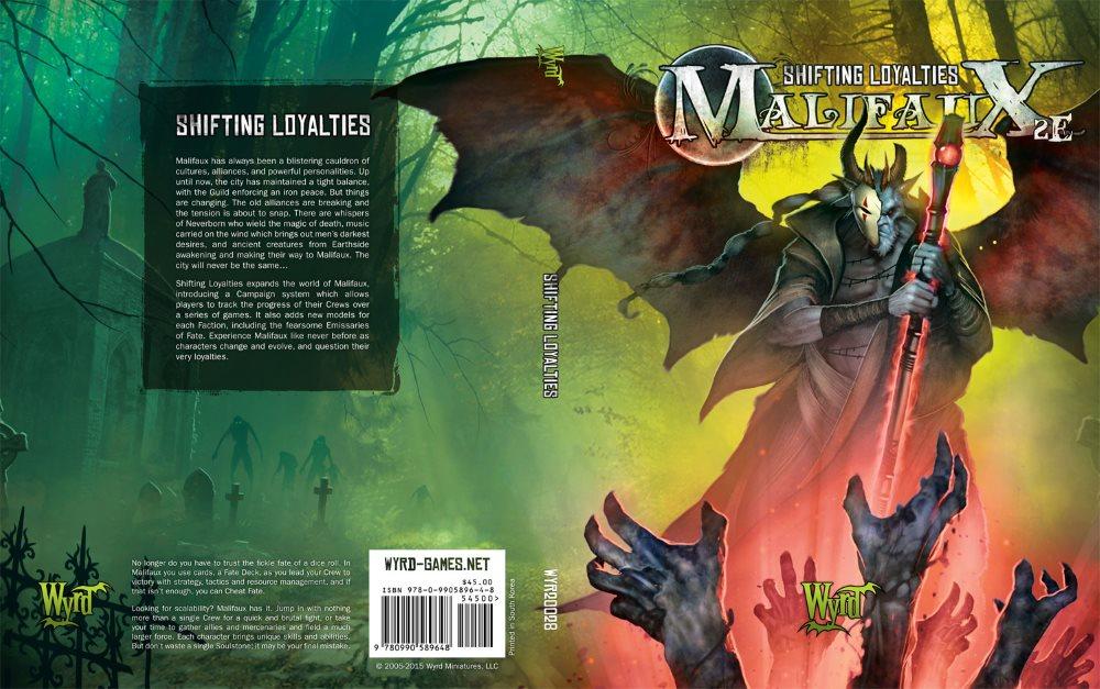 Cover- und Backcover der neuen Erweiterung in voller Pracht.