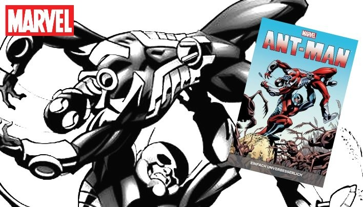 Rezension: Ant-Man Megaband 1 – Klitzeklein in der SHIELD-Damendusche