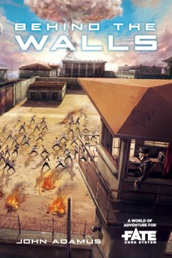 Behind the Walls Cover FATE World Core