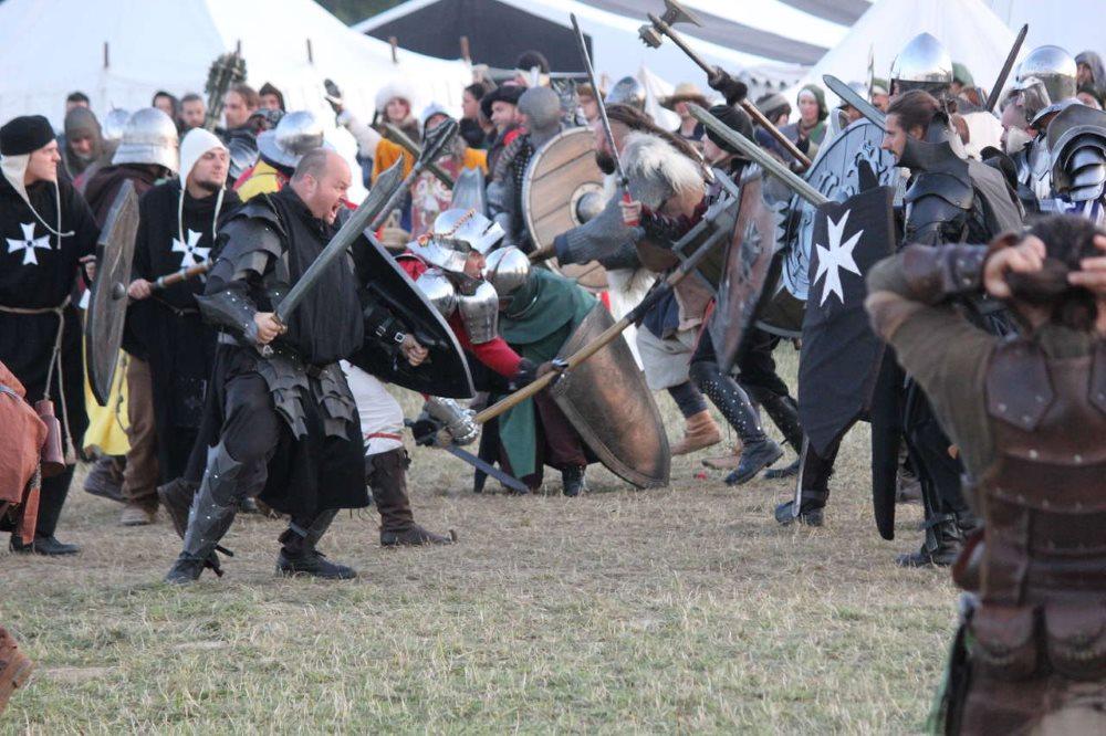 Dank der neue Belagerungsregeln gab es vermehrt Feldschlachten