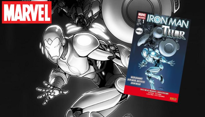 Kurzcheck: Iron Man/Thor #01 – Besoffen und ohne Hammer