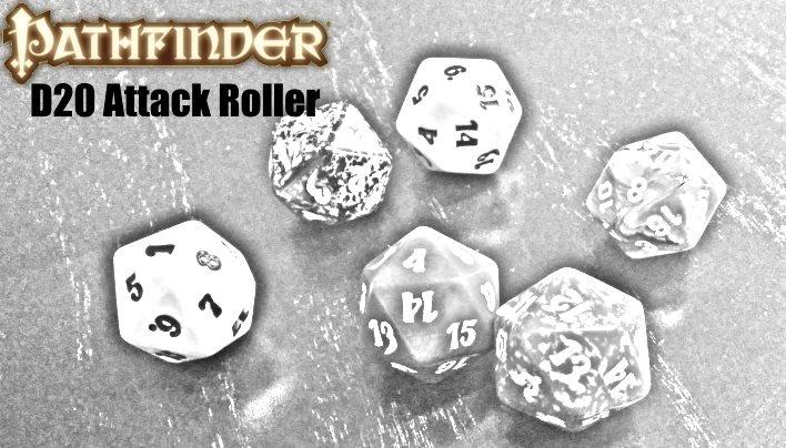 D20 Attack Roller – universell lauffähiges Würfeltool für Pathfinder und Konsorten
