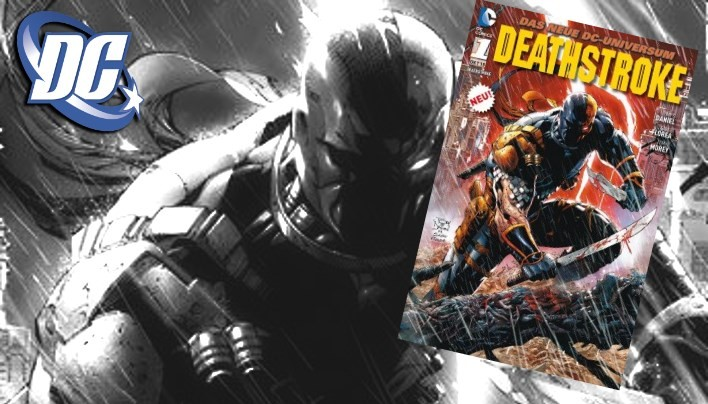 Rezension: Deathstroke #01 – Tödliche Mission Marke Noir (DC Comics)