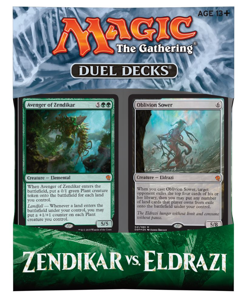 Duel Deck Box: Zendikar vs Eldrazi