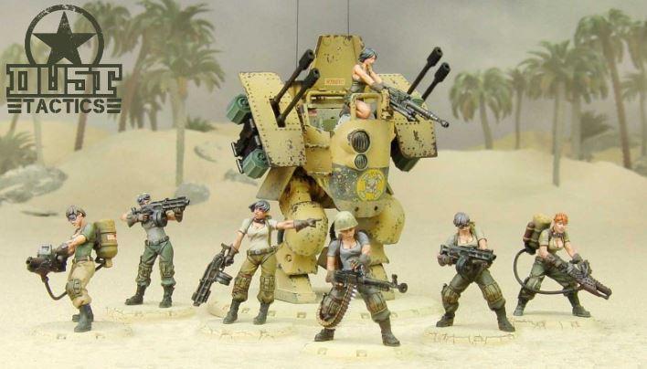 Dust Tactics Taskforce Tanya: Neue Fraktion mit neuen Regeln