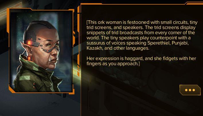 Die Texte sind das Herzstück! Wer Dialoge weiterklickt, um zum nächsten Kampf zu kommen, verpasst das eigentliche Spiel.