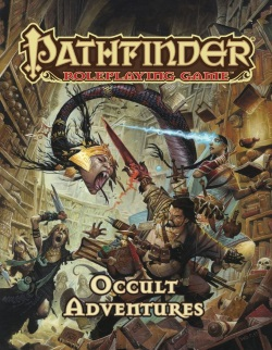 Pathfinder Paizo Occult Adventures Cover
