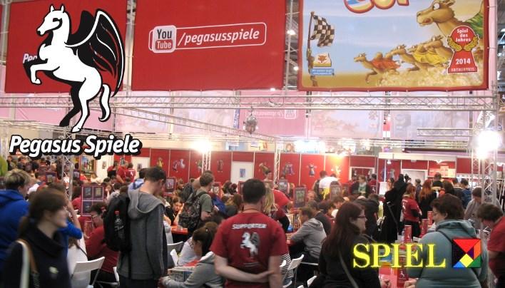 SPIEL 2015: Pegasus Teil 2, die Brett- und Miniaturenspiele