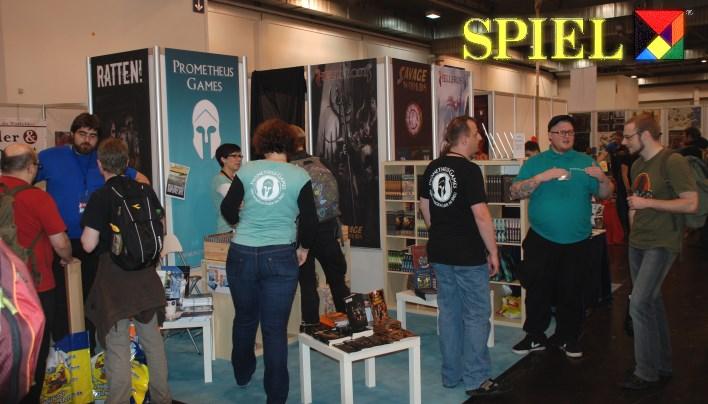 SPIEL 2015: Zwiegespräch mit Prometheus Games