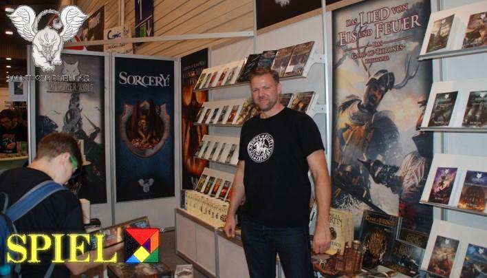 SPIEL 2015: Mantikore Verlag – Spielbücher, Romane und Game of Thrones