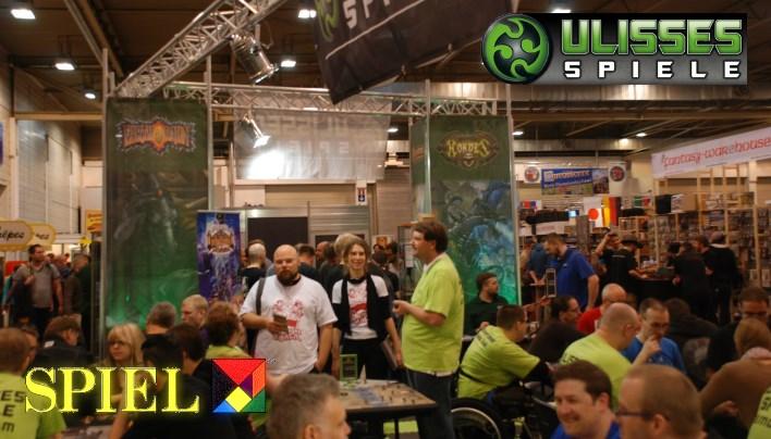 SPIEL 2015: Ulisses Spiele – Brett-, Rollen- und Tabletopspiele