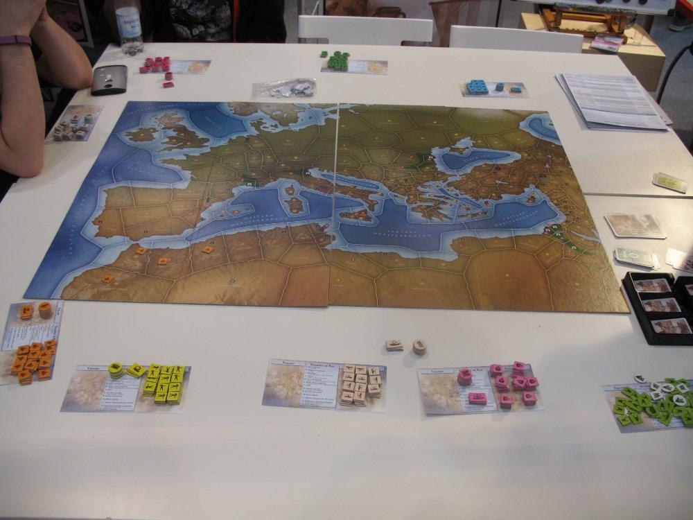Hier wird das Einstieger-Szenario von Mega Civilization gespielt.