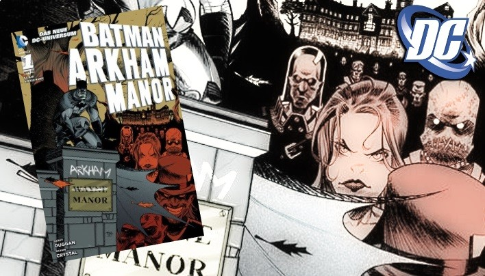Rezension: Arkham Manor – Batmans Heim dreht durch (DC Comics)