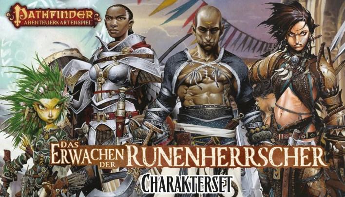 Rezension: Pathfinder Abenteuerkartenspiel – Das Erwachen der Runenherrscher | Charakterset