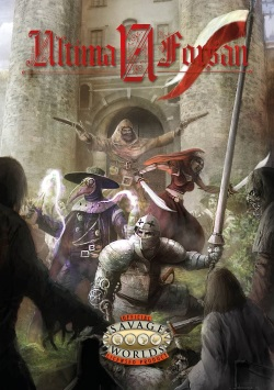 Ultima Forsan Savage Worlds Cover