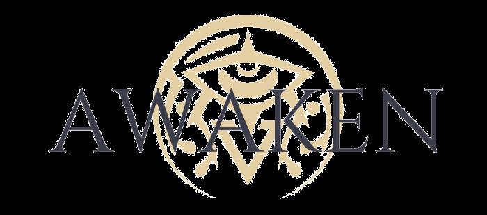 awaken logo gross