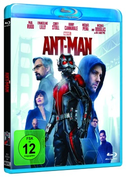AntMan BluRay Cover