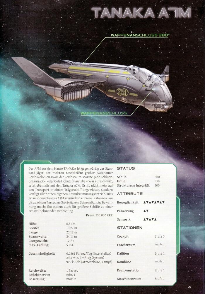 Das Schiff der Tanaka-Klasse - die Illustrationen lassen sich sehen