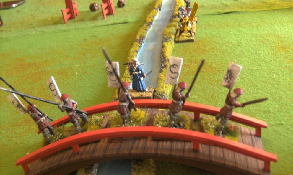 Die Brücke gehört den Angreifern – das war ja auch das Ziel; Miniaturen: (c) Zenit Miniatures