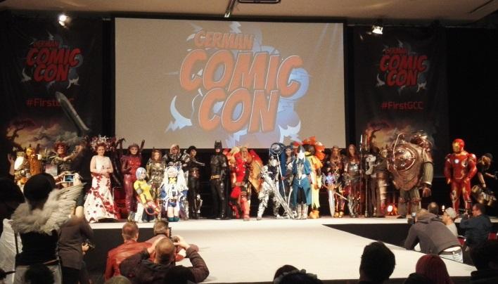 German Comic Con 2015 – Voll, sehr voll, laut und gut | Viele, viele Bilder!