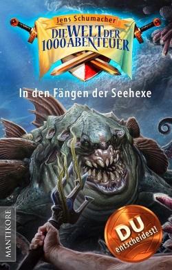 In den Fängen der Seehexe - Mantikore Verlag - Cover