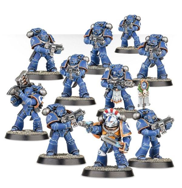 Besondere Horus-Heresy-Miniaturen? Oder nur eine Abwandlung allseits bekannter Space Marines? (c) Games Workshop
