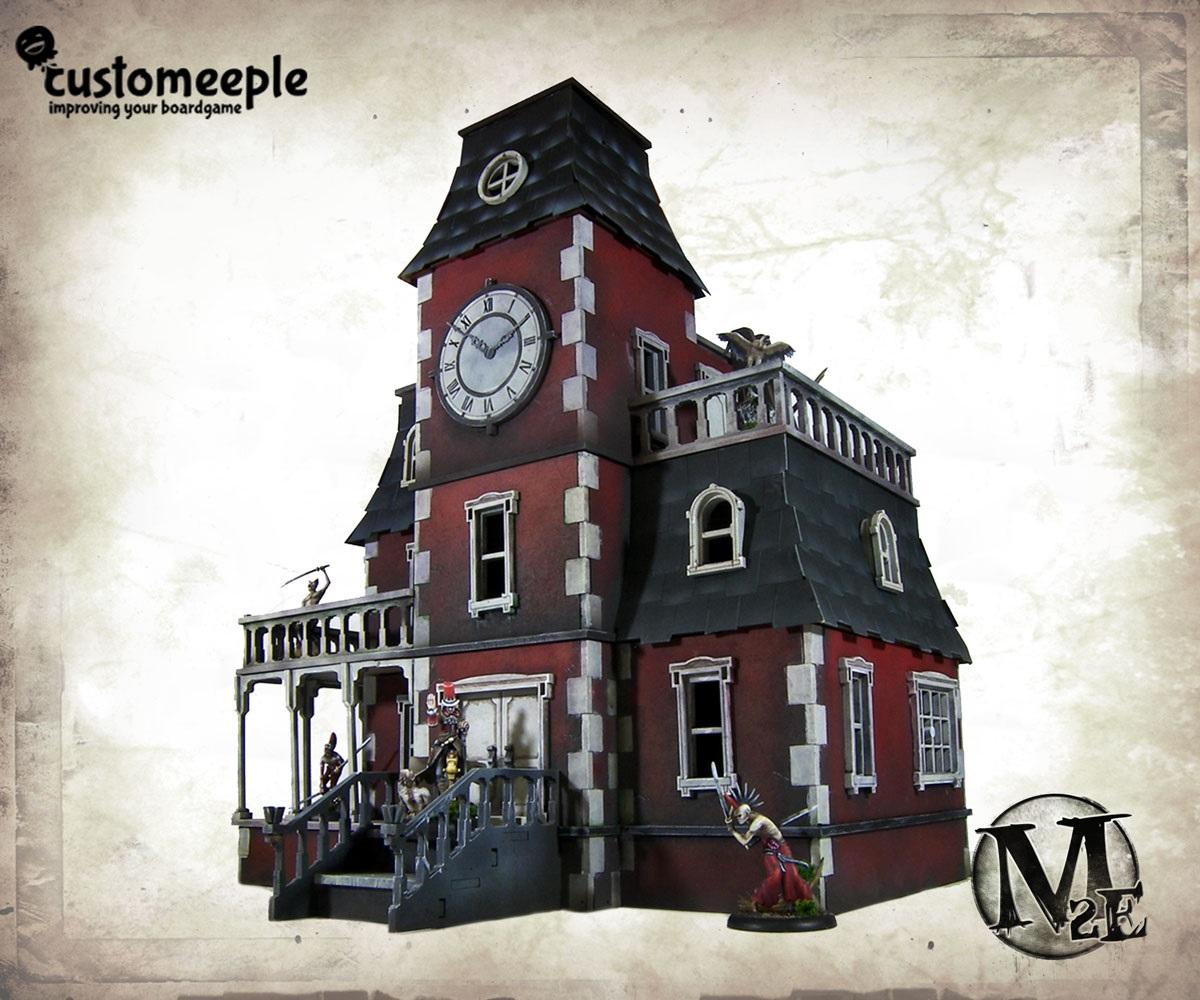 Das DollHouse Mansion, erhältlich für 69,95 EUR. (c) customeeple