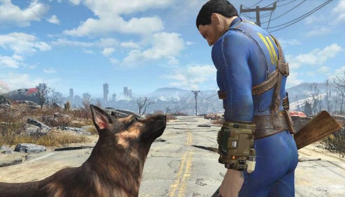 Der Wanderer in blauem Vault-Anzug und sein Hund sind mittlerweile Ikonen der Videospiele – mangelndem Realismus zum Trotz.