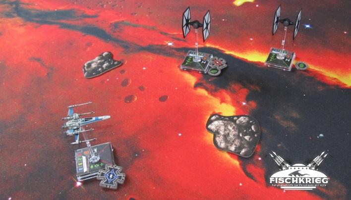 Kurzcheck: Sternenmatten von Fischkrieg – Mehr Spaß und Schönheit bei X-Wing