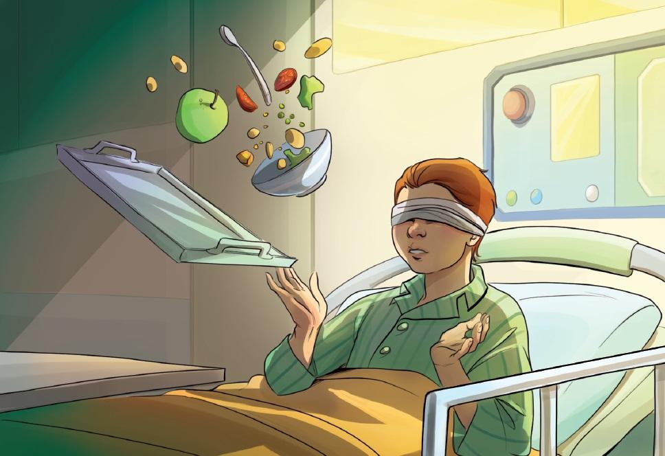 Unerwartete Entdeckungen beim Aufenthalt in der Krankenstation