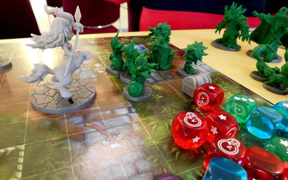 Morpheus 30 -Unzählige Brettspiele konnten ausgetestet werden