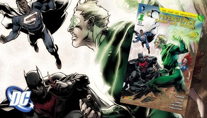 Rezension: Convergence – Kampf der Welten, #1 – Der Heimat entrissen (DC Comics)