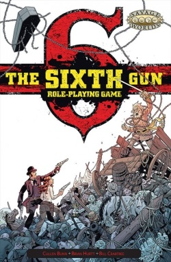 Sixth Gun Cover Pinnacle Entertainment Group