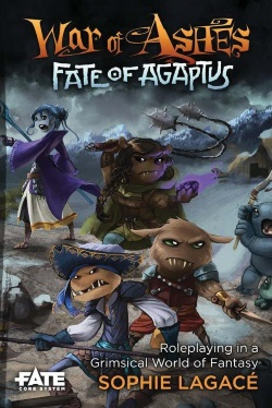 War of Ashes Fate of Agaptus Cover