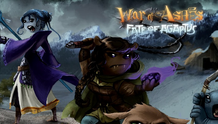 Rezension: War of Ashes: Fate of Agaptus – Krieg der Plüschmonster (Turbo Fate)