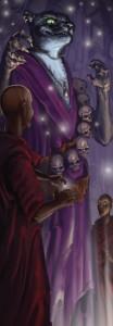 Wie es sich für Fantasy gehört, hat das Übernatürliche keine kleine Rolle