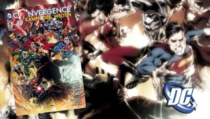 Rezension: Convergence – Kampf der Welten, Ausgabe 4 | Jeder gegen Jeden (DC Comics)