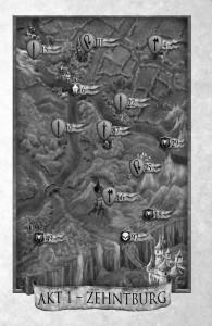 Die Karte der Handlung