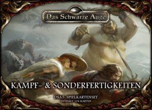 Kartenset Kampf- und Sonderfertigkeiten - Cover