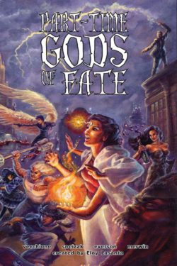 Part Time Gods of FATE Cover Rezension