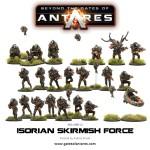 """Die """"Isorian Skirmish Force"""" enthält alle neu erschienenen Modelle der Isorianer."""