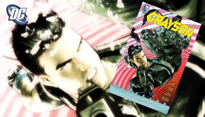 Rezension: Grayson Megaband  –  Super(- Helden)-Spion in Comicform