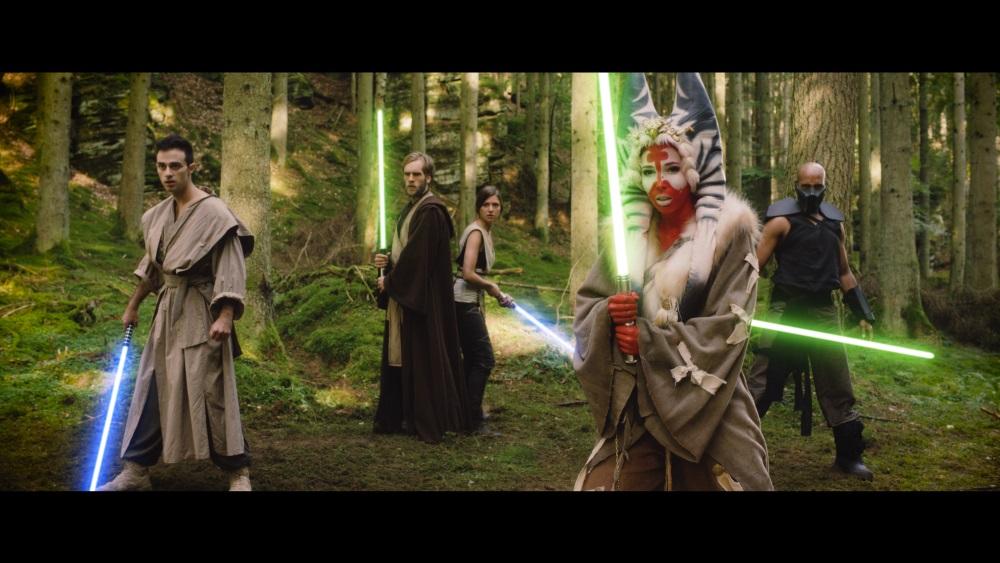 Jedi in verschiedenen Stilen